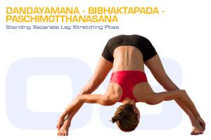 Dandayamana-Bibhaktapada-Paschimotthanasana